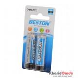 باتری قلمی BESTON مدل Extra Heavy Duty (کارتی 2 تایی)