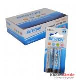 بسته 40 تایی باتری قلمی BESTON مدل Extra Heavy Duty (کارتی 2 تایی)
