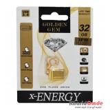 فلش X-Energy مدل 32GB Golden GEM USB 3.0
