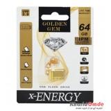 فلش X-Energy مدل 64GB Gold USB 3.0