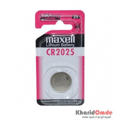 باتری سکه ای maxell مدل CR2025