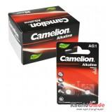 بسته 20 تایی باتری سکه ای Camelion مدل Alkaline AG1 (کارتی 2 تایی)