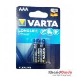 باتری نیم قلمی Varta مدل MN2400 1.5V(کارتی 2 تایی)