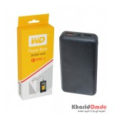 پاور بانک Western Digital مدل E304 Quick Charge 3.0 10000mAh