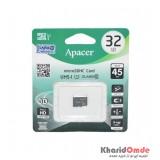 رم موبایل APACER مدل 32GB 45MB/S Class10 U1