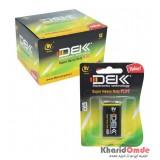 بسته 12 تایی باتری کتابی DBK مدل 6F22 9V
