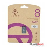 فلش Queen Tech مدل 8GB FACT