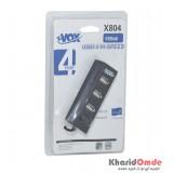 هاب 4 پورت xVOX مدل X804