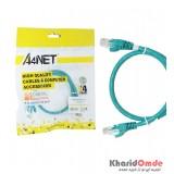 کابل شبکه CAT5 پچ کرد طول 0.5 متر A4NT