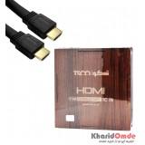کابل HDMI فلت طول 15 متر TSCO مدل TC 78