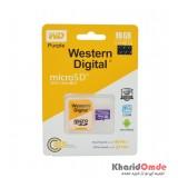 رم موبایل Western Digital مدل 16GB 95MB/S Purple خشاب دار