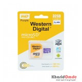 رم موبایل Western Digital مدل 32GB 100MB/S Purple خشاب دار