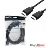 کابل HDMI فلت طول 3 متر Lotus مدل 19P Male
