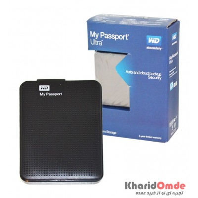 باکس هارد لپ تاپ WD مدل My Passport Ultra