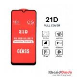 گلس 21D مناسب برای گوشی Samsung A40s