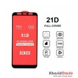 گلس 21D مناسب برای گوشی Samsung J4 Plus