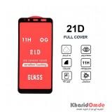 گلس 21D مناسب برای گوشی Samsung J6 Plus