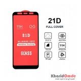 گلس 21D مناسب برای گوشی Samsung A6