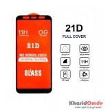 گلس 21D مناسب برای گوشی Samsung A6 Plus