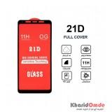 گلس 21D مناسب برای گوشی Samsung A8 Plus 2018