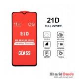 گلس 21D مناسب برای گوشی Samsung M10
