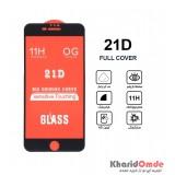 گلس 21D مناسب برای گوشی Iphone 6 Plus