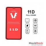 محافظ گلس صفحه نمایش 11D مناسب برای گوشی iphone 11 بدون پک