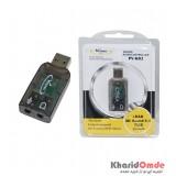 کارت صدا 7.1 کاناله USB اکسترنال Venous مدا PV-K02