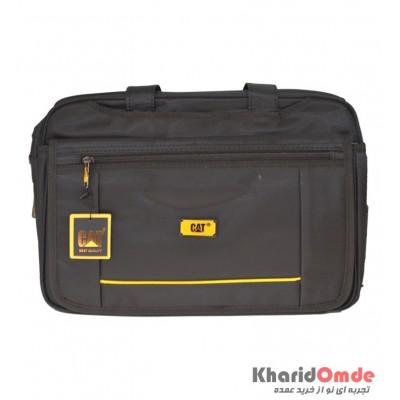 کیف دوشی CAT مدل خط دار زرد Lorance