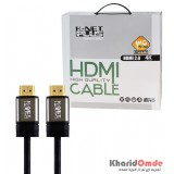 کابل 3D-4K 2.0 HDMI طول 10 متر Knet Plus مدل KP-HC154