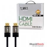 کابل 3D-4K 2.0 HDMI طول 15 متر Knet Plus مدل KP-HC155