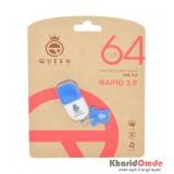 فلش Queen Tech مدل 64GB Rapid USB 3.0