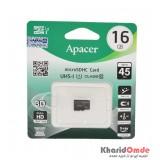 رم موبایل APACER مدل 16GB 45MB/S Class10 U1
