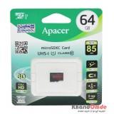 رم موبایل APACER مدل 64GB 85MB/S Class10 U1