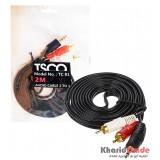 کابل 1 به 2 صدا طول 2 متر TSCO مدل TC 81