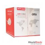 کابل شبکه CAT6 UTP طول 100 متر TSCO