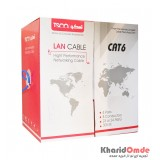 کابل شبکه CAT6 FTP طول 305 متر TSCO