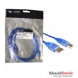 کابل پرینتر USB طول 1.5 متر Shark