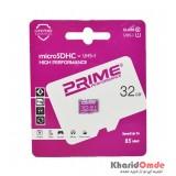 رم موبایل Prime 32gb MicroSDHC 85MB/S
