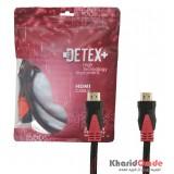 کابل HDMI طول 3 متر DETEX+