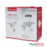 کابل شبکه CAT5 طول 100 متر TSCO