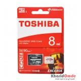 رم موبایل Toshiba مدل 8GB M302-EA 90MB/S خشاب دار