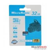 رم موبایل MicroSonic مدل 32GB U1 Class10