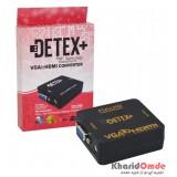 تبدیل VGA به HDMI برند DETEX+