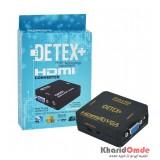 تبدیل HDMI به VGA برند DETEX+