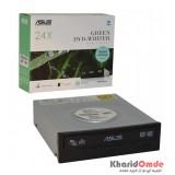 DVD رایتر اینترنال ASUS مدل DTW-24D5MT GREEN 24X پک دار
