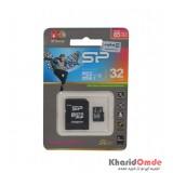 رم موبایل Silicon Power مدل 32GB Elite 85MB/S خشاب دار