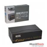 اسپلیتر 4 پورت Knet plus HDMI 3D 1.4 مدل KPS644