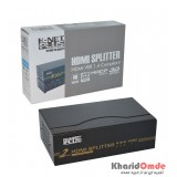 اسپلیتر 2 پورت Knet plus HDMI 3D 1.4 مدل KPS642