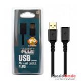 کابل افزایش طول USB طول 5 متر Knet Plus مدل KP-C4015